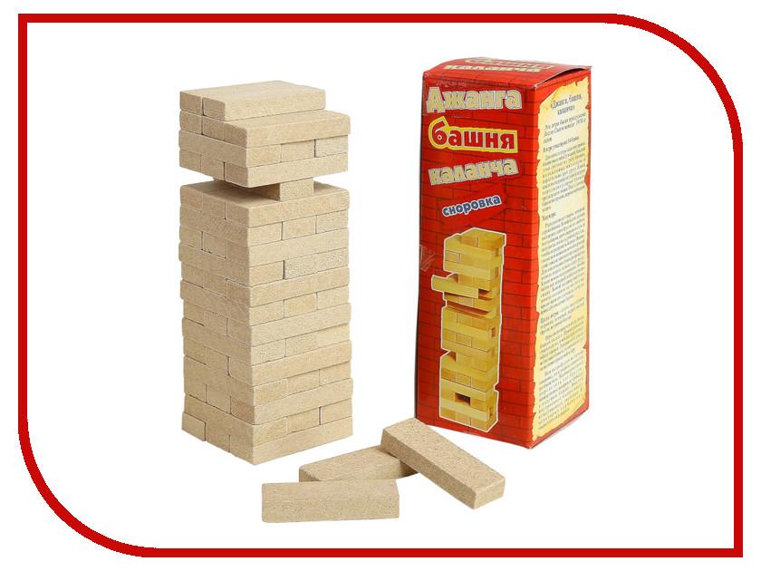 Настольная игра СИМА-ЛЕНД Падающая башня Каланча 3809536 настольная игра dream makers семейная падающая башня