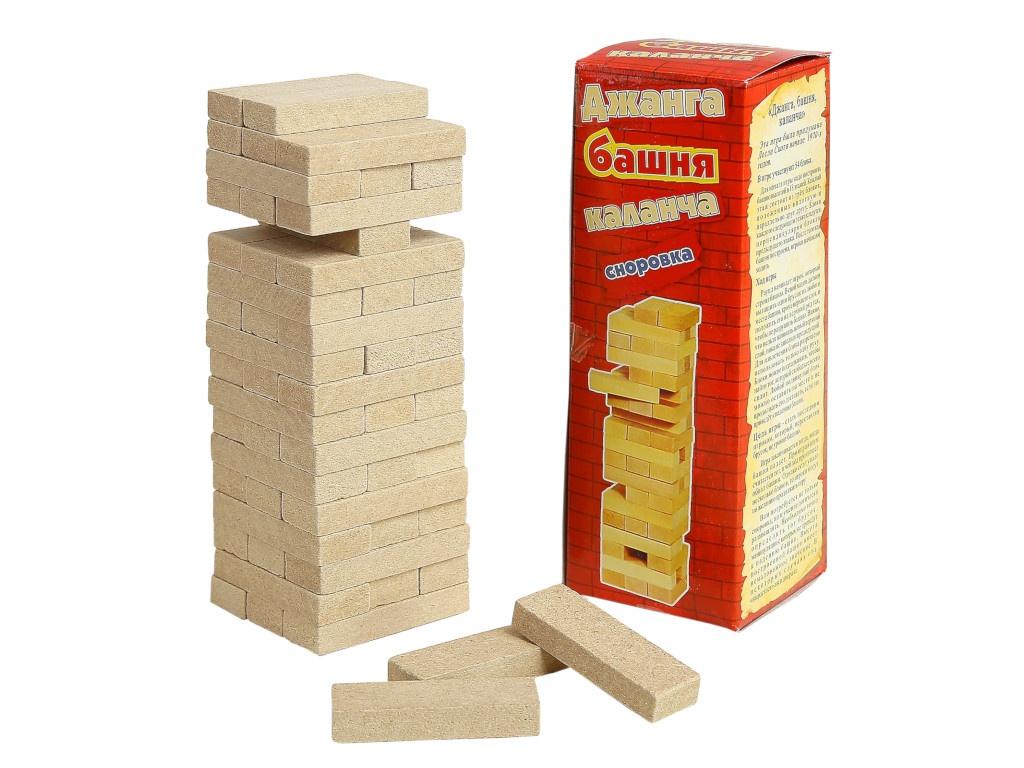 Настольная игра СИМА-ЛЕНД Падающая башня Каланча 3809536 игра настольная dream makers падающая башня