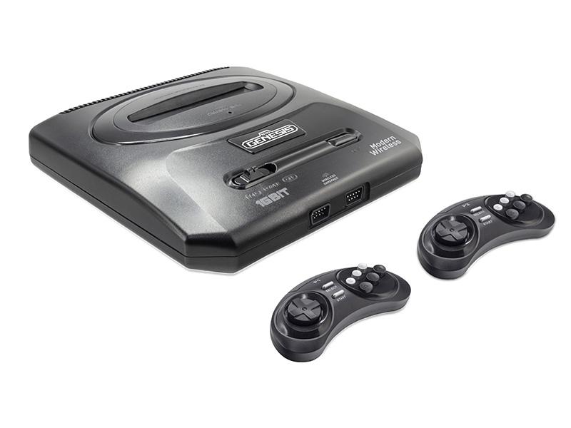 Игровая приставка SEGA Retro Genesis Modern Wireless + 170 игр 2 джойстика