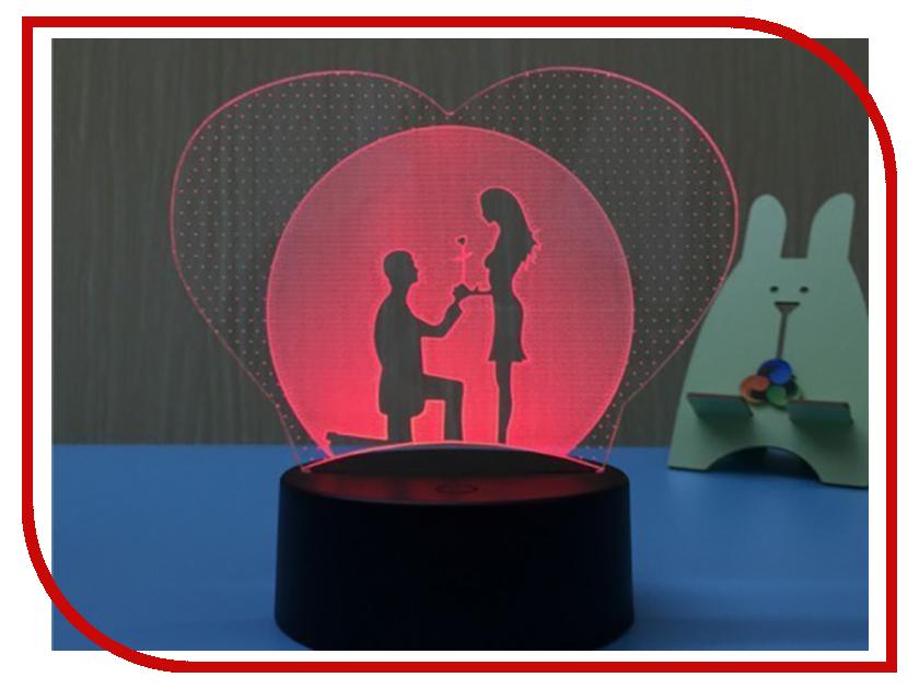 3D лампа Veila 3D Влюбленные 1051 3d очки 3d