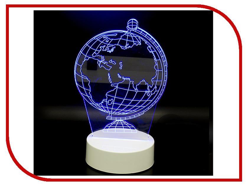 цена 3D лампа Veila 3D Глобус 1050