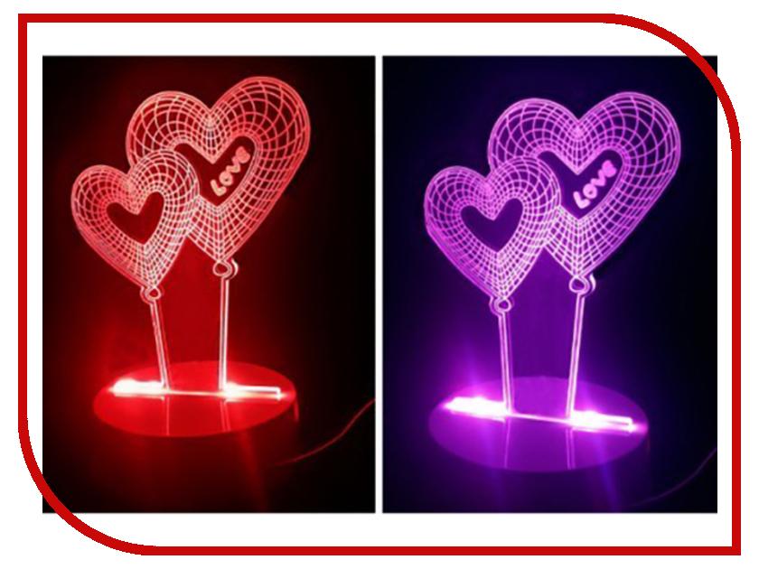 3D лампа Veila 3D Сердечки 1049 3d очки 3d