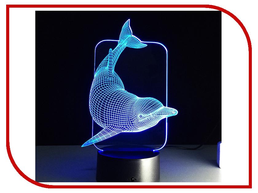 Купить 3D лампа Veila 3D Дельфин 1047