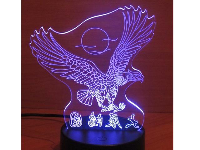 3D лампа Veila Орел 1046