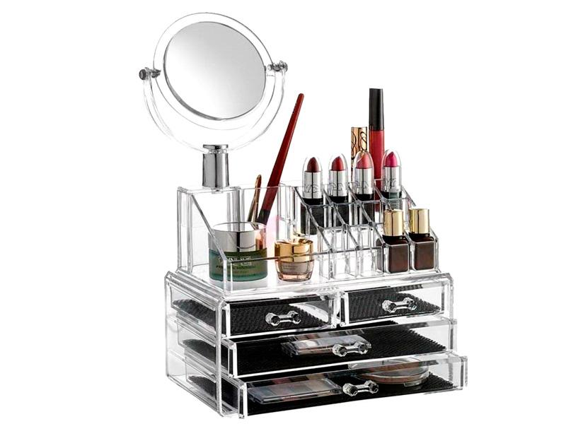 Органайзер для косметики Veila 1054 с зеркалом