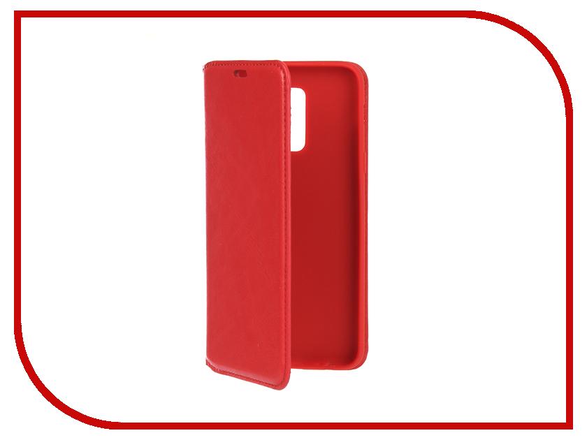 Аксессуар Чехол для Samsung Galaxy A6 Plus 2018 Gurdini Premium Silicone Magnetic Red 907952 аксессуар чехол накладка для samsung galaxy j2 2018 gurdini high tech silicone transparent 905900