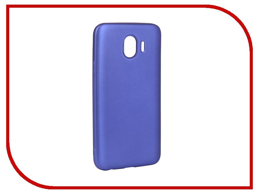 Аксессуар Чехол для Samsung Galaxy J4 2018 Gurdini Soft Touch Silicone Blue 907963 аксессуар чехол gurdini soft touch silicone для apple airpods white 906287