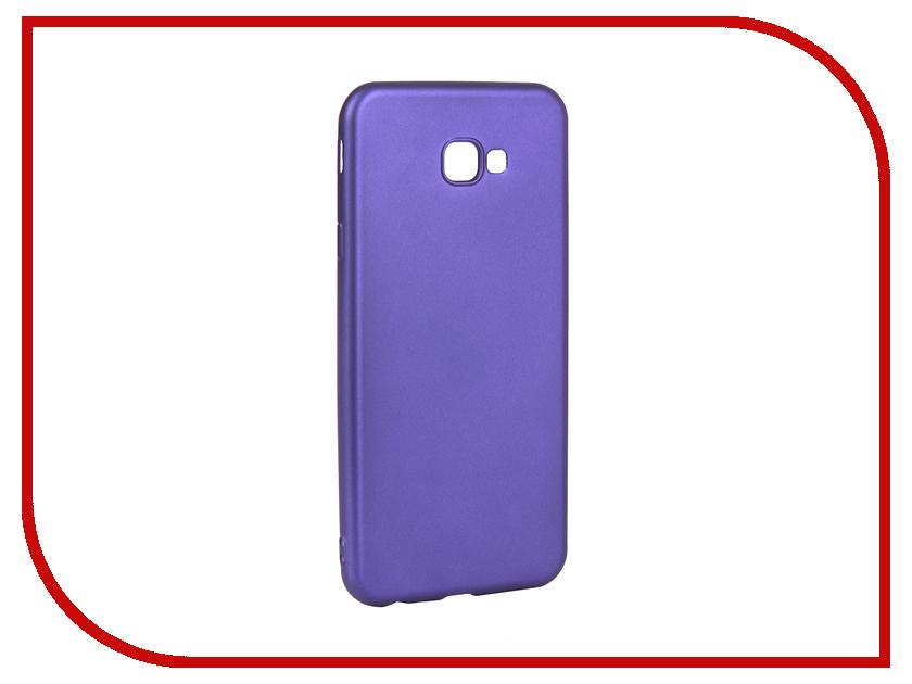 Аксессуар Чехол для Samsung Galaxy J4 Plus Gurdini Soft Touch Silicone Blue 907962 аксессуар чехол для samsung galaxy tab s2 8 0 t 715 719 gurdini lights series blue