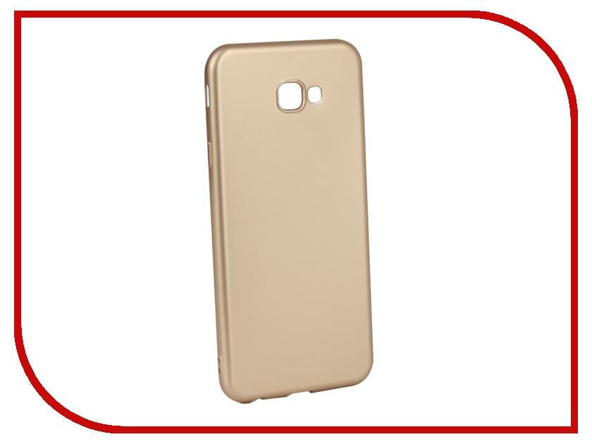 Аксессуар Чехол для Samsung Galaxy J4 Plus Gurdini Soft Touch Silicone Champagne 907961