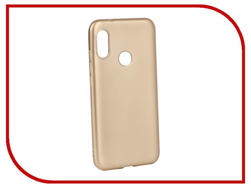 Аксессуар Чехол для Xiaomi Redmi 6 Pro Gurdini Soft Touch Silicone Champagne 907496 аксессуар чехол для xiaomi redmi 6x mi a2 gurdini soft touch silicone blue 906609