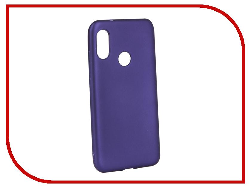 Аксессуар Чехол для Xiaomi Redmi 6 Pro Gurdini Soft Touch Silicone Blue 907495 аксессуар чехол для xiaomi redmi 6x mi a2 gurdini soft touch silicone blue 906609
