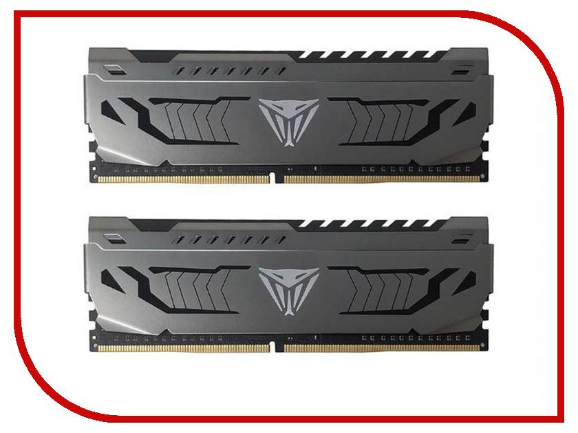 Модуль памяти Patriot Memory Viper Steel DDR4 DIMM 3866MHz PC-30400 CL18 - 16Gb KIT (2x8Gb) PVS416G386C8K цена