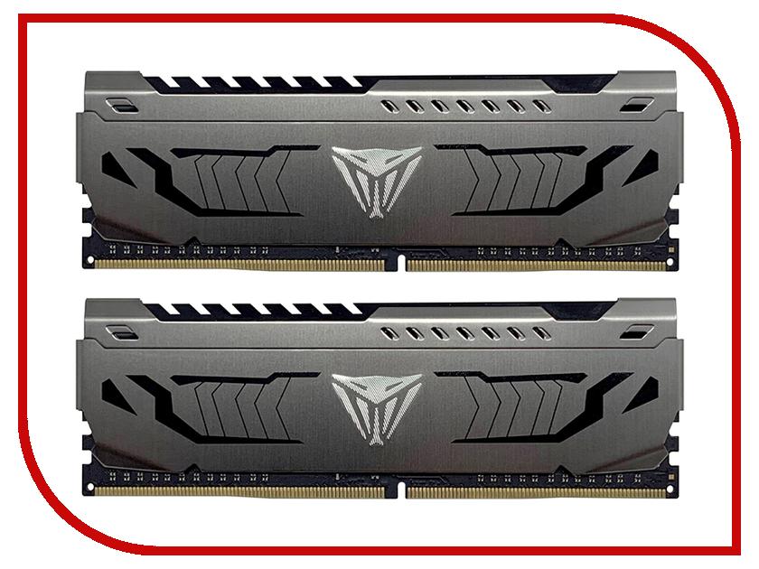 Картинка для Модуль памяти Patriot Memory DDR4 DIMM 3000MHz PC-24000 CL18 - 16Gb KIT (2x8Gb) PVS416G300C6K
