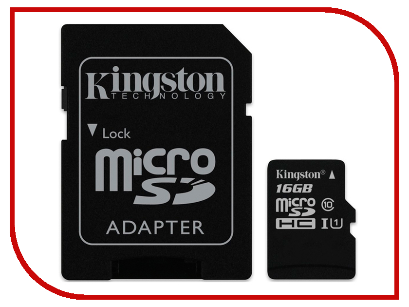Карта памяти 16GB - Kingston Industrial Temperature MicroSD UHS-ISDCIT/16GBSP 0 1300 cetigrade industrial thermocouple k type temperature sensor 0 1300c temperature probe