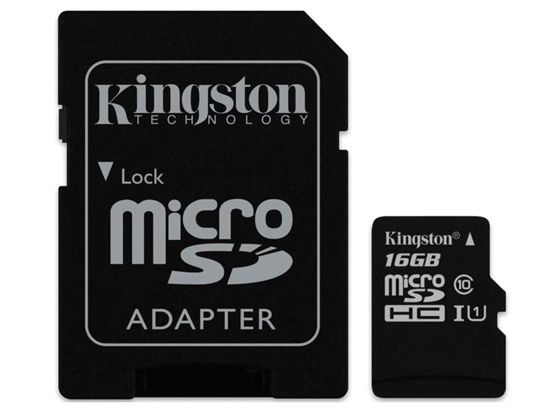 Карта памяти 16GB - Kingston Industrial Temperature MicroSD UHS-ISDCIT/16GBSP цены
