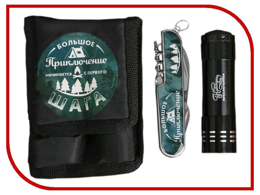 цена Набор Командор Большое приключение - фонарик и мультитул 3244396