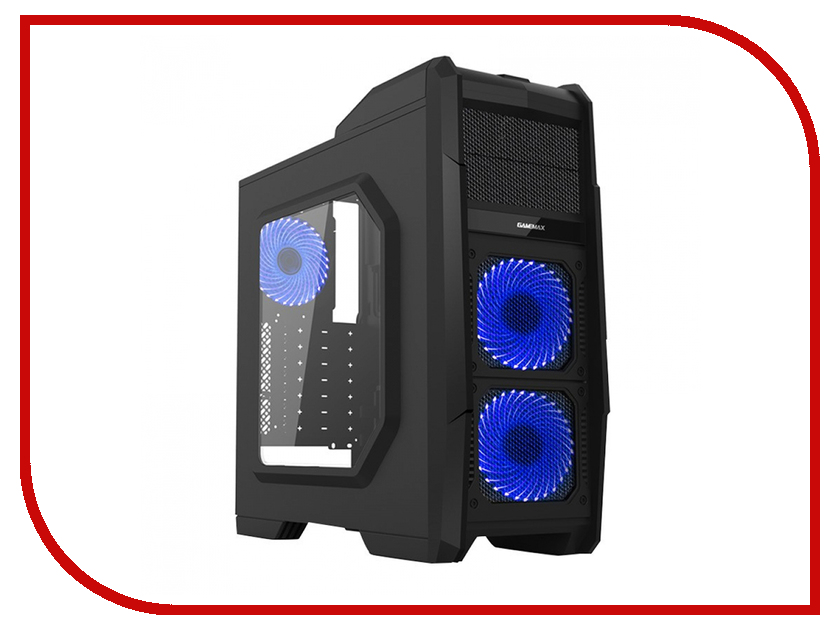 Корпус GameMax G506 Black-Blue