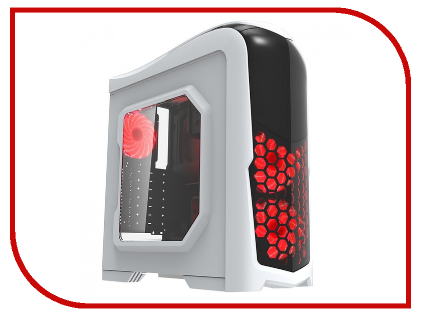 Корпус GameMax G539 RGB White цена и фото