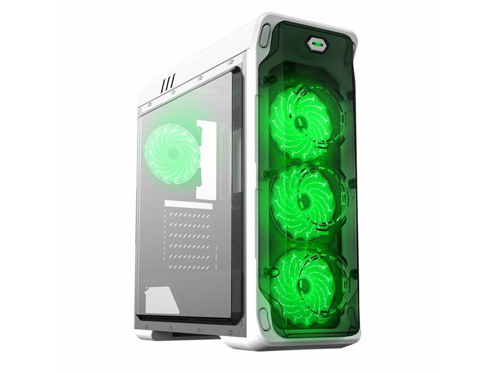 Корпус GameMax StarLight-W Green