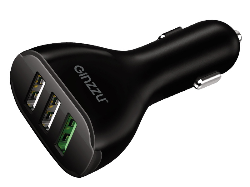 Зарядное устройство Ginzzu 3xUSB GA-4503UB