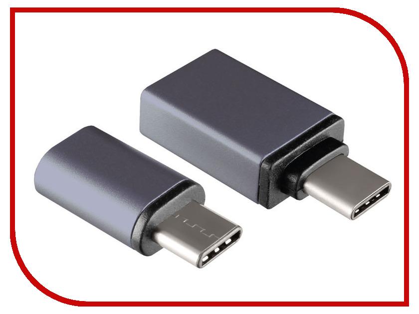 Аксессуар Ginzzu USB - USB Type-C 3.1 / MicroUSB Adapter Black GC-885B ginzzu gc 885b black комплект переходников type c microusb usb 3 0