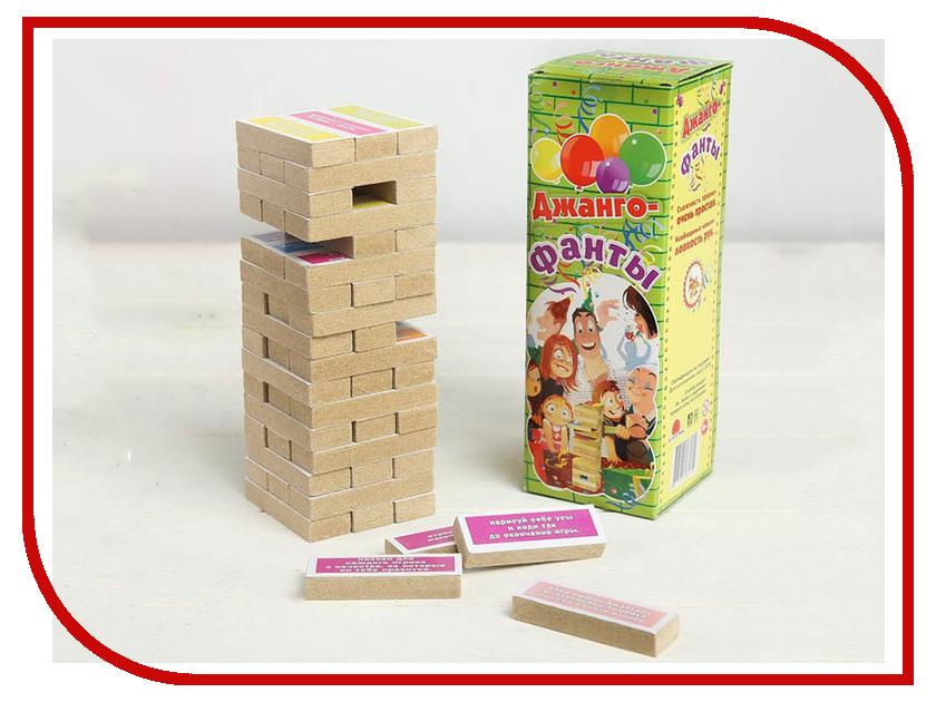 Настольная игра Задира-плюс Падающая башня Фанты 3809537 настольная игра dream makers семейная падающая башня