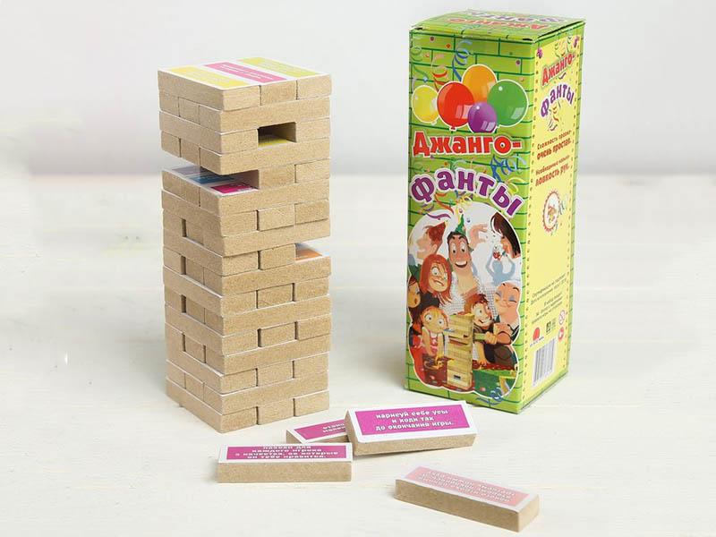 Настольная игра Задира-плюс Падающая башня Фанты 3809537
