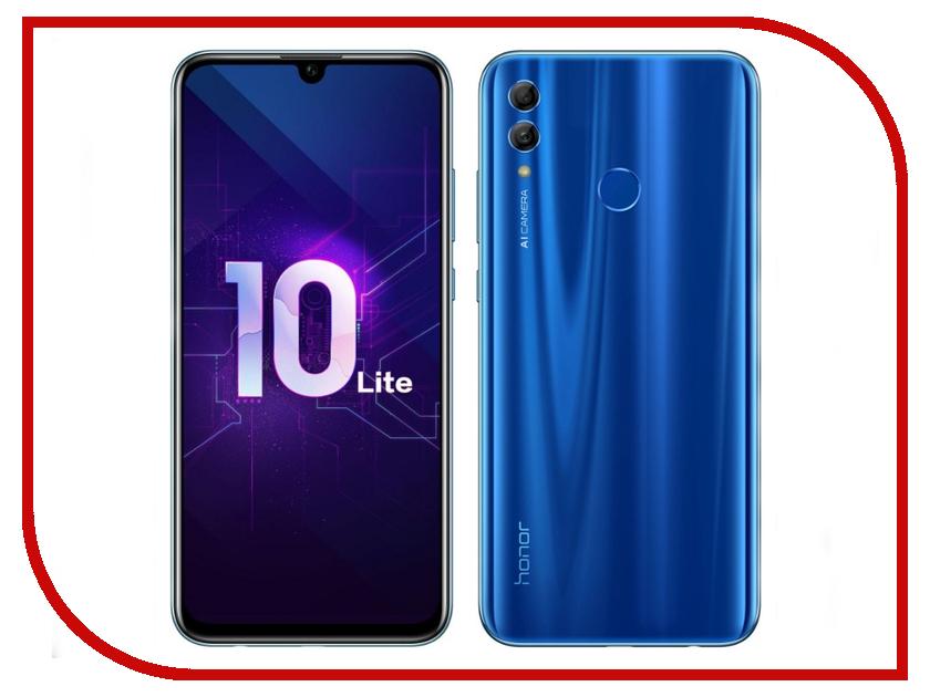 где купить Сотовый телефон Honor 10 Lite 3/64GB Blue по лучшей цене