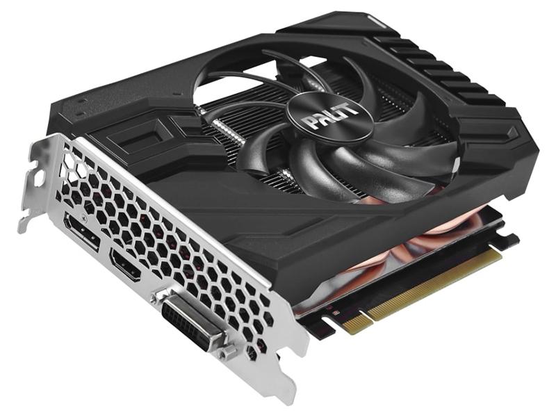 Видеокарта Palit GeForce RTX 2060 StormX 1365MHz PCI-E 3.0 6144Mb 14000MHz 192-bit DVI-D HDMI DP NE62060018J9-161F