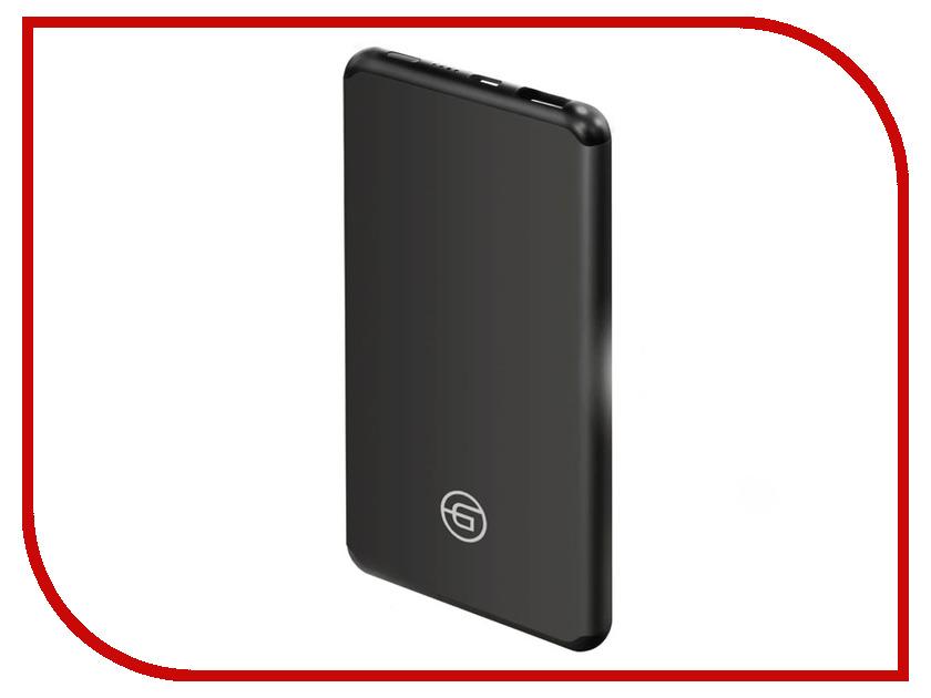 Аккумулятор Ginzzu Power Bank 5400mAh Black GB-3905B