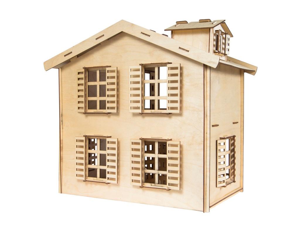 Фото - Сборная модель IQ Format Дом для кукол 4627151960975 сборная модель miniart польский городской дом 35004м