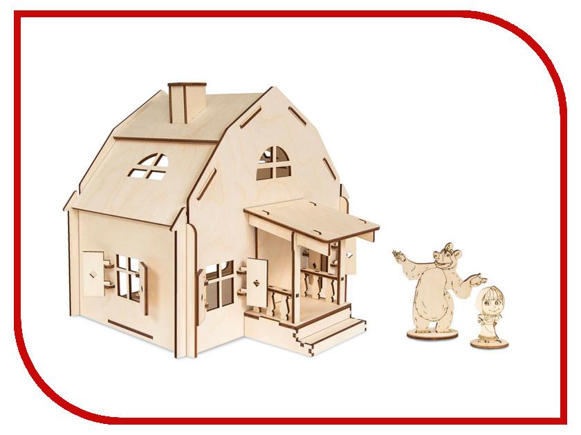 Сборная модель IQ Format Маша и Медведь Дом Маши 4627130658282