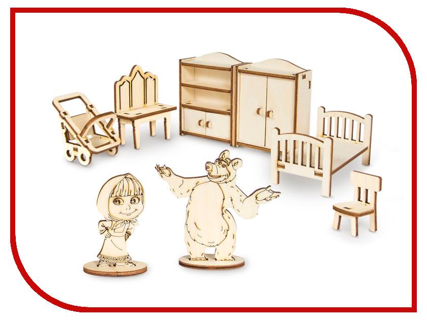 Купить Сборная модель IQ Format Маша и Медведь Мебель Маши 4627130659975