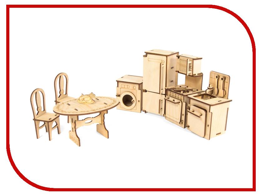 Сборная модель IQ Format Набор мебели Кухня 4627130657391