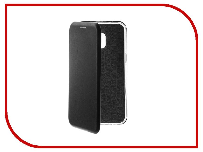 Аксессуар Чехол для Samsung Galaxy J2 Core J260F Red Line Unit Black УТ000017069 аксессуар чехол samsung j3 2017 j330f zibelino clear view black zcv sam j330 blk