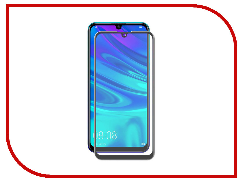 Аксессуар Защитный экран для Huawei P Smart 2019 Red Line Full Screen 3D Tempered Glass Black УТ000017134 for lenovo zuk z2 lcd screen display with touch screen digitizer panel glass assembly black white replacement parts free shipping