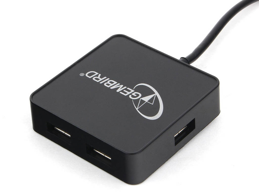 Хаб USB Gembird 4 Ports UHB-242 2.0 Black