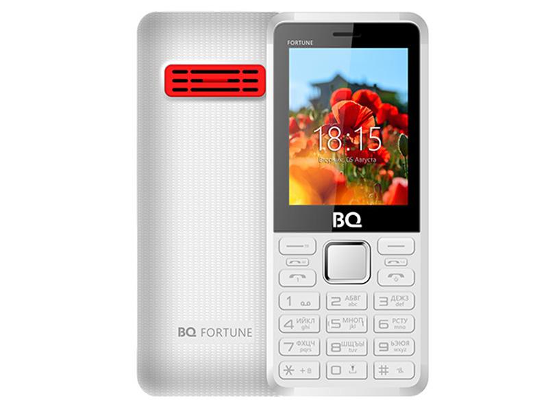 Сотовый телефон BQ BQ-2436 Fortune Power White-Red цена и фото