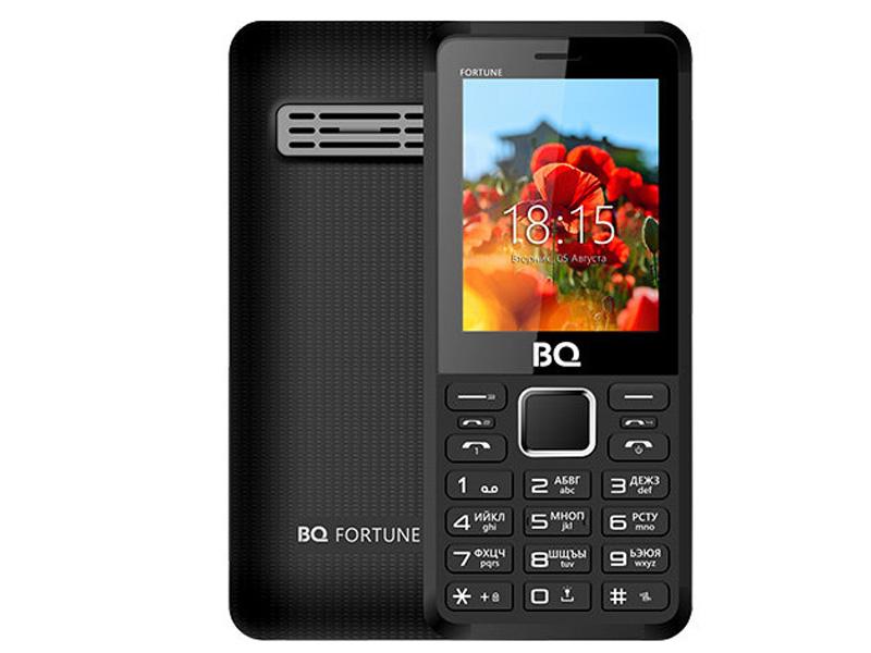 Сотовый телефон BQ BQ-2436 Fortune Power Black-Grey телефон