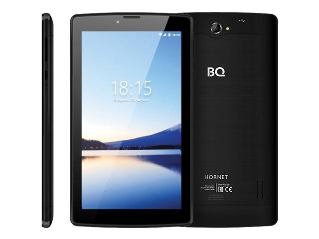 Планшет BQ BQ-7036L Hornet Black (Spreadtrum SC9832E 1.4GHz/1024Mb/8Gb/Wi-Fi/4G/3G/Bluetooth/GPS/Cam/7.0/1024x600/Android) планшет bq 7022g canion 3g silver