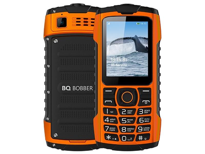 Сотовый телефон BQ BQ-2439 Bobber Orange