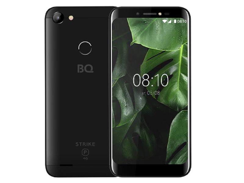 Сотовый телефон BQ BQ-5514L Strike Power 4G Black сотовый телефон oukitel c8 4g black