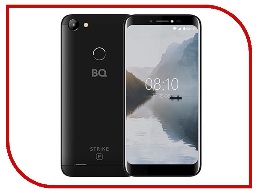 Сотовый телефон BQ 5514G Strike Power Black сотовый телефон bq bq 5059 strike power grey matted