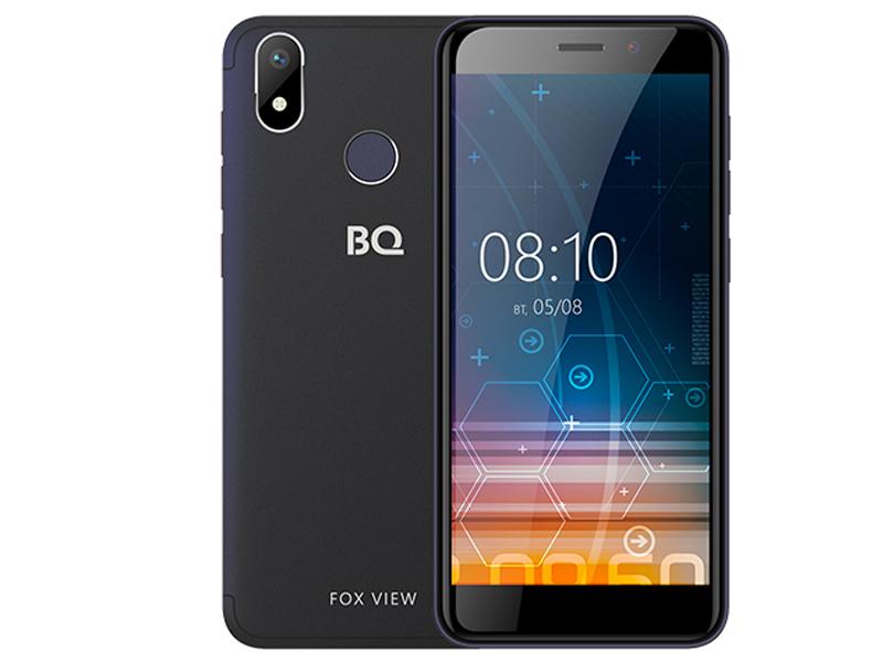 Сотовый телефон BQ BQ-5011G Fox View Blue