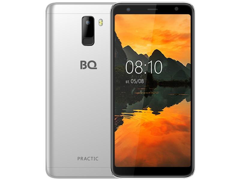 Сотовый телефон BQ BQ-6010G Practic Silver