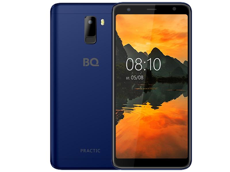 Сотовый телефон BQ BQ-6010G Practic Dark Blue телефон