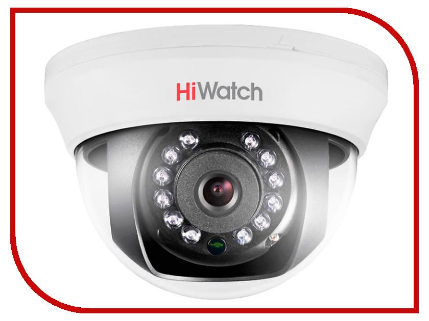 Аналоговая камера HiWatch DS-T201 6mm аналоговая камера hiwatch ds t106 2 8 12mm