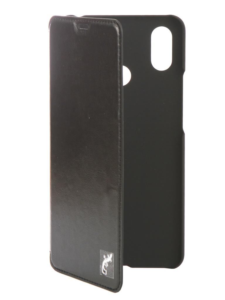 Аксессуар Чехол G-Case для Xiaomi Mi Max 3 Slim Premium Black GG-1003 аксессуар чехол флип micromax e313 canvas xpress 2 gecko white gg f mice313 wh