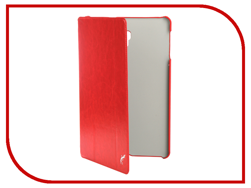 Аксессуар Чехол для Samsung Galaxy Tab A 10.5 SM-T590 / SM-T595 G-Case Slim Premium Red GG-1006 аксессуар чехол флип micromax e313 canvas xpress 2 gecko white gg f mice313 wh