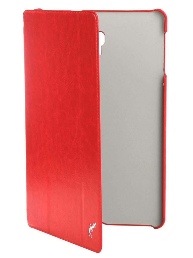 Аксессуар Чехол G-Case для Samsung Galaxy Tab A 10.5 SM-T590 / SM-T595 Slim Premium Red GG-1006 аксессуар чехол для samsung galaxy tab a 10 5 sm t590 sm t595 g case slim premium black gg 982